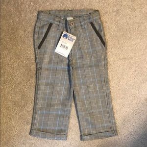 NWT 2t plaid rugged butts pants